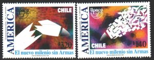 Chile. 1999. 1915-16. Mail, dove, letters. MNH.