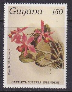 Guyana (1985) #1062 MNH; Orchid