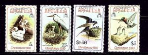Anguilla 398-402 MNH 1980 Birds