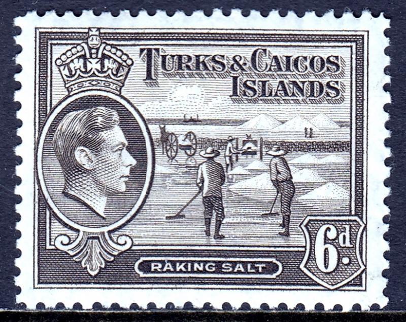 Turks and Caicos Islands - Scott #85A - MH - SCV $0.25