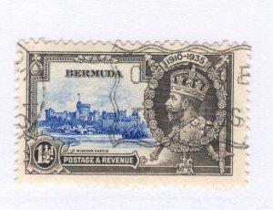 Bermuda #101 Used - Stamp - CAT VALUE $3.50