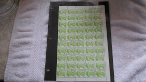 1983 NICARAGUA FULL SHEET OF STAMPS MNH. 50 STAMPS