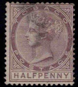 Tobago Scott 8 Mint No Gum Queen Victoria CC wmk  shallow thin