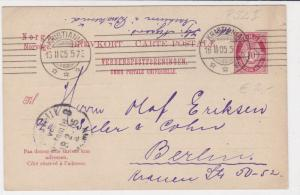 norway 1905 stamps card ref 19401