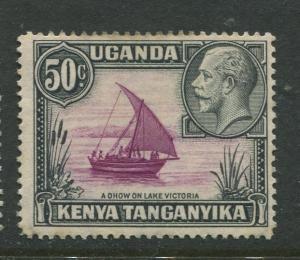 Kenya & Uganda - Scott 52 - KGV Definitive -1935 - MNH - Single 50c Stamp