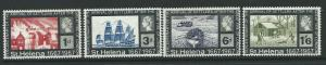 ST.HELENA SG214/7 1967 SETTLERS AFTER THE GREAT FIRE OF LONDON MNH