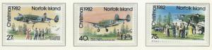 Norfolk Island    MNH  SC 299 - 301
