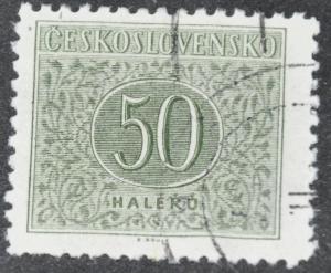 DYNAMITE Stamps: Czechoslovakia Scott #J85 - USED
