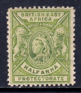 British East Africa - Scott #72 - MH - Paper adhesion on reverse - SCV $4.75