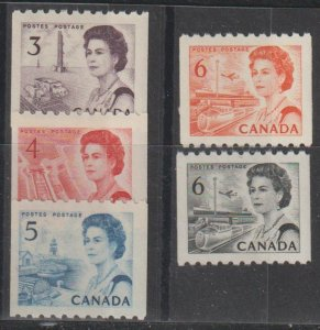 Canada SC 466-68B Mint Never Hinged