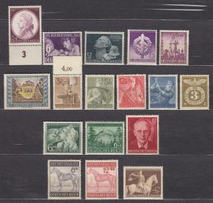 Germany - 1941/1943 small stamp collection - MNH (872N)
