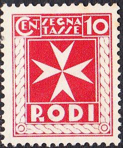Italy - Rhodes #J2  Unused  NG