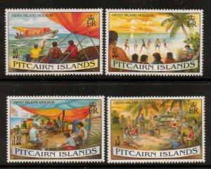 PITCAIRN ISLANDS SG474/7 1995 OENO ISLAND HOLIDAY MNH