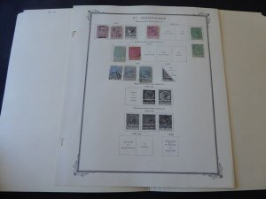 St Christopher 1870-1884 on Scott Specialty Album Pages