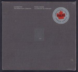 Canada #1818e-1834e, Complete Book in Original Wrap, 1999-2000