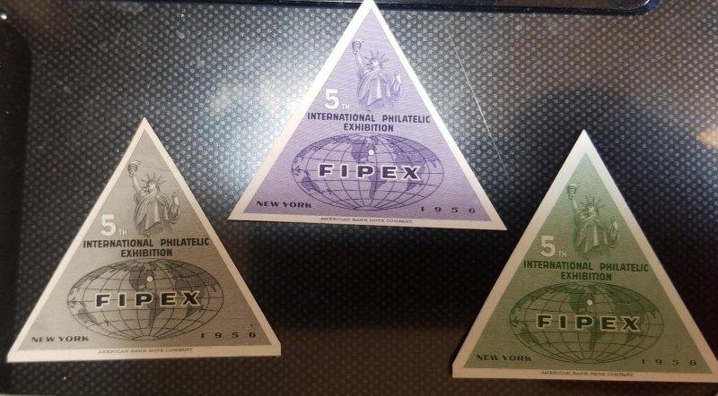 O) 1956 UNITED STATES - USA, DIE PROOF, FIPEX, INTERNATIONAL PHILATELIC
