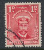 Southern Rhodesia SG 22a SC# 25 Perf 11½  Used see scan and details