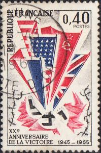 France #1121 Used