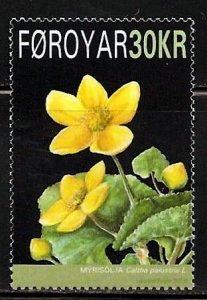 Faroe Islands - 2008 - Flowers  MNH set # 501