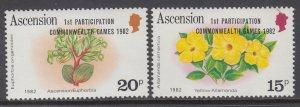 Ascemnsion 321-322 MNH VF