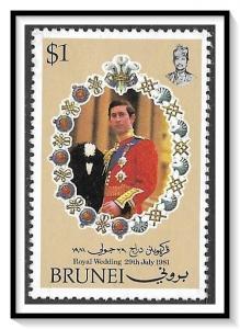 Brunei #269 Royal Wedding Princess Diana MNH
