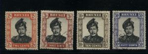 Brunei  4 different  used PD