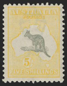 Australia Scott 54 Gibbons 42 Mint Stamp