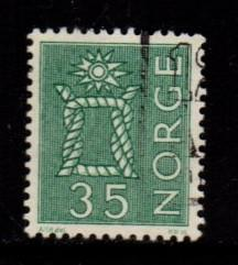 Norway - #422 Boatswains Knot - Used