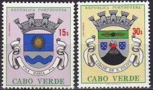 Cape Verde #318-9   MNH CV $14.00  (Z8183)