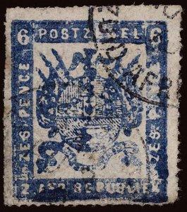 Transvaal Scott 17c Gibbons 19b Used Stamp