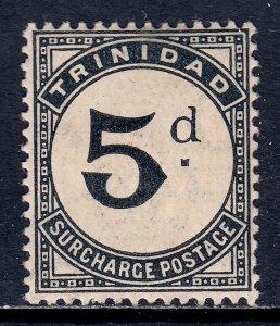 Trinidad - Scott #J14 - MH - Toning - SCV $17.50