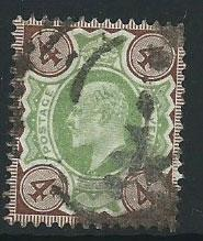 GB Edward VII  SG 236   used