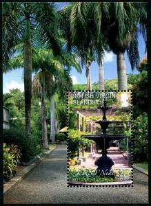 HERRICKSTAMP VIRGIN ISLANDS Sc.# 1105 Botanic Gardens S/S