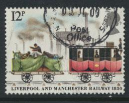 Great Britain SG 1117 - Used - Trains