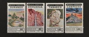 Mexico 1982 #1274-7, Tourism, MNH.