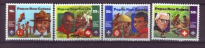 J21912 Jlstamps 1982 png set mnh #554-7 boy scouts