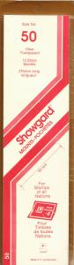SHOWGARD CLEAR MOUNTS 215/50 (15) RETAIL PRICE $9.75
