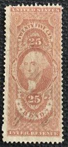 US Revenue #R43c Used Single Bond George Washington SCV $3.75 L37
