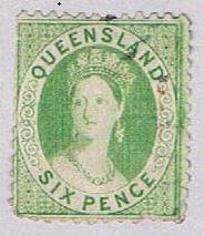 Queensland 48 Used Queen Victoria 1876 (BP51729)