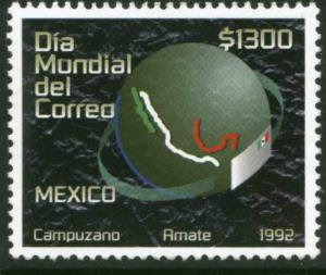 MEXICO 1759 World Post Day MNH