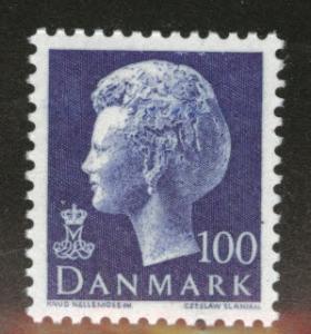 DENMARK  Scott 541 MNH** 1974 100o ultra