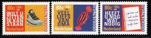 Netherlands Scott # B705 - B707, mint nh