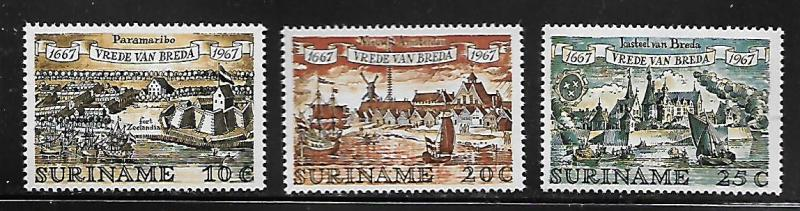 SURINAME  349-351