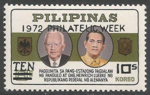 PHILIPPINES 1167 MNH S146-12