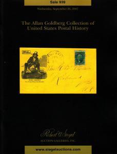Robert A Siegel Sale #939 Auction Catalog