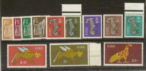 Ireland 1968 Definitives MNH