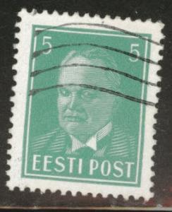 Estonia Scott 121 used from 1936-1940 set
