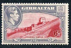 Gibraltar SG126 6d Perf 13.5 M/M Cat 48 Pounds