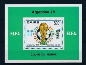 [43627] Congo Zaire 1978 Sports World Cup Soccer Football  MNH Sheet