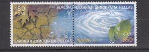 J26179  jlstamps 2001 greece pair mnh #1992 europa